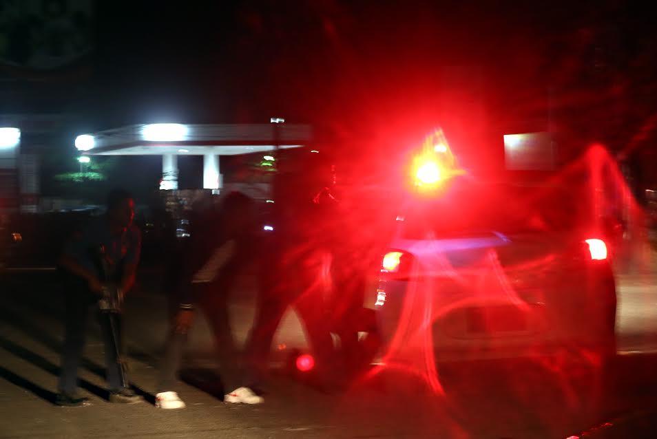 Butuan drug bust firefight taking position