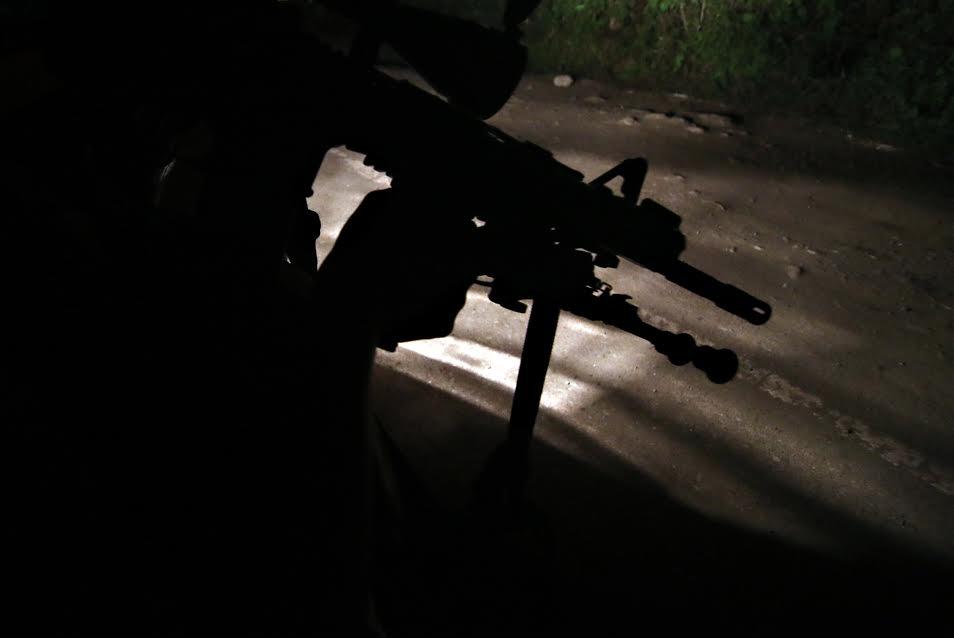 Butuan drug bust firefight assault rifle