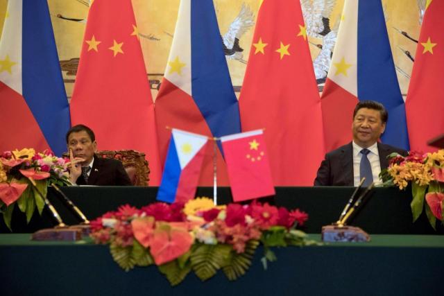 Duterte Xi Jinping