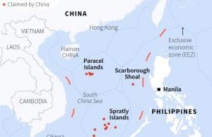 REUTERS South China Sea infograph