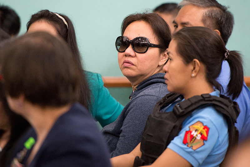 Sandigan junks Napoles plea for transfer to NBI custody
