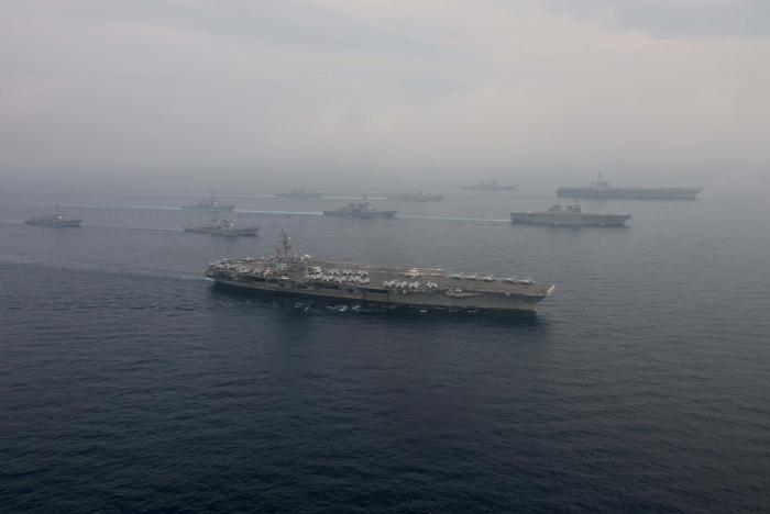 Japan, US conduct joint naval drill off Korean peninsula